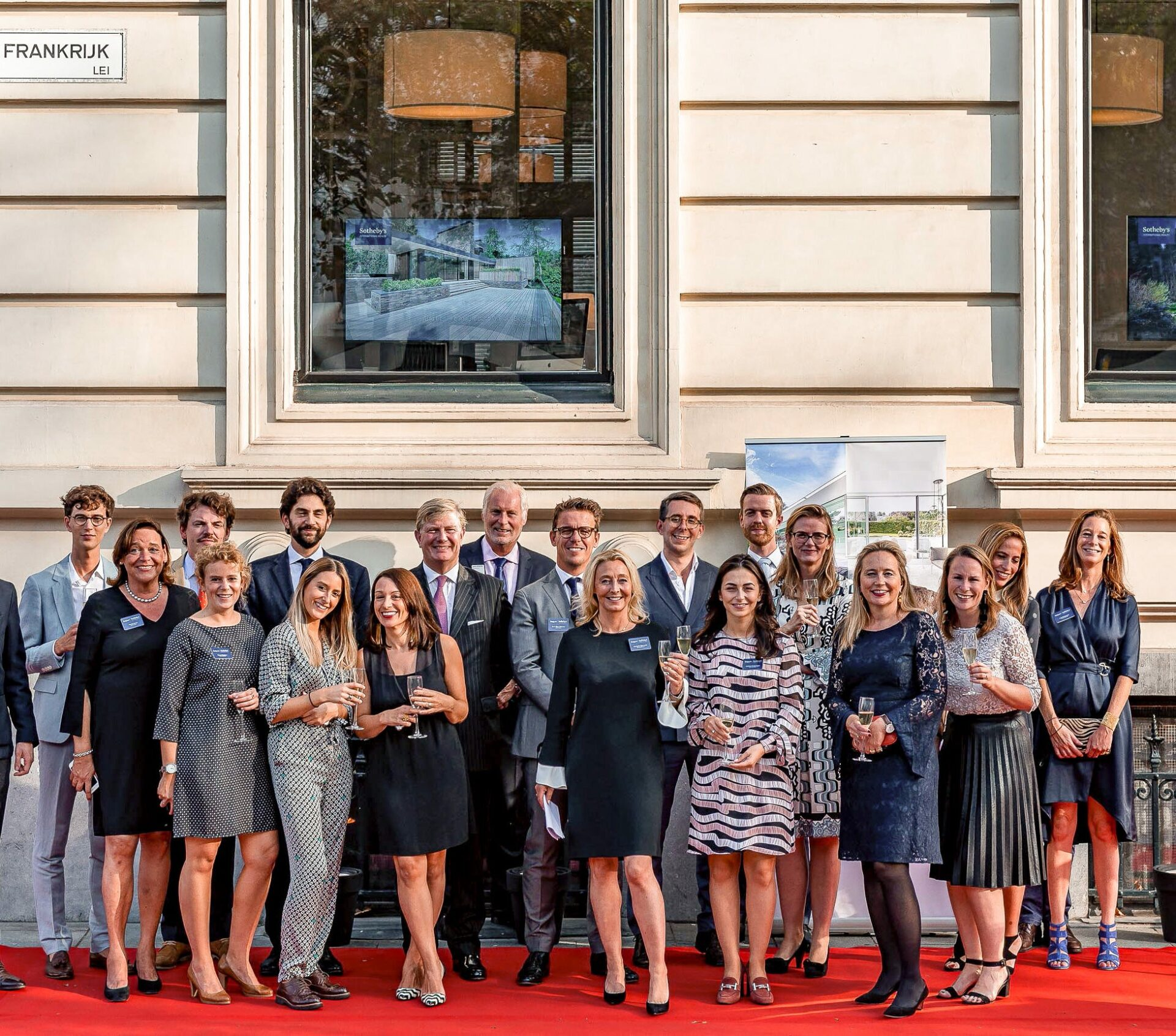 event sotheby's teambuilding red carpet Brussels